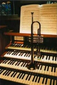 Grant Golding (Trumpet) and Steven McIntyre (Organ)